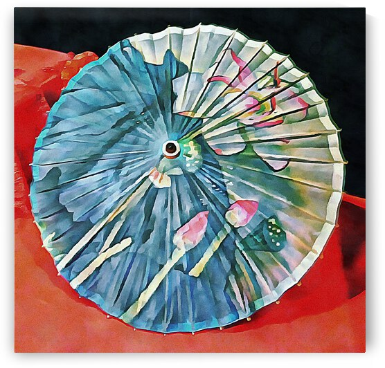 Japanese Parasol Study 1 by Dorothy Berry-Lound