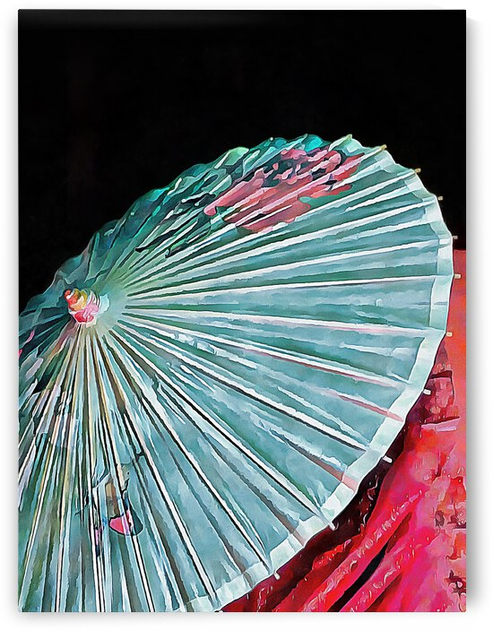 Japanese Parasol Study 2 by Dorothy Berry-Lound