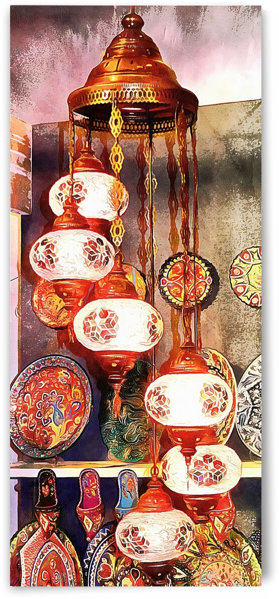 Oriental Lamp by Dorothy Berry-Lound