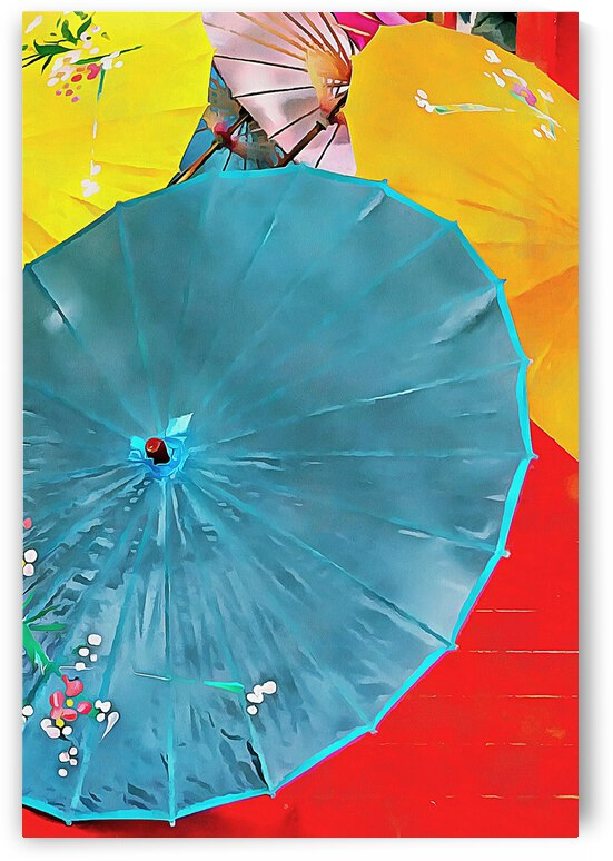 Oriental Parasols Mixture by Dorothy Berry-Lound