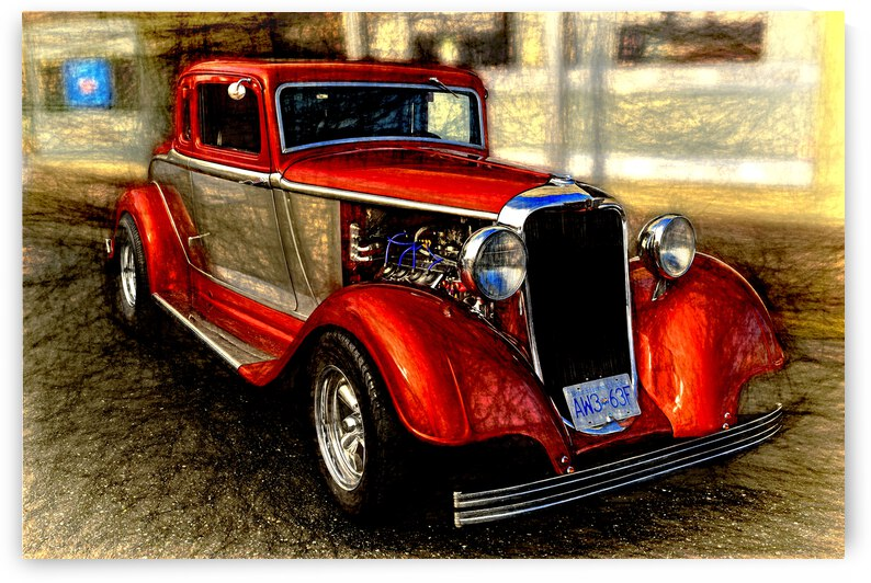 1933 Dodge Coupe by COOL ART BY RICHARD