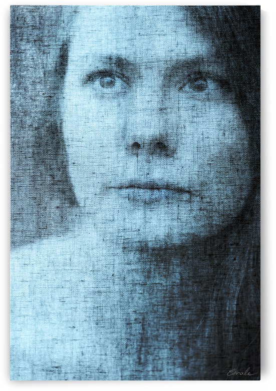Un regard bleu - A Blue Gaze by Pierre Cavale