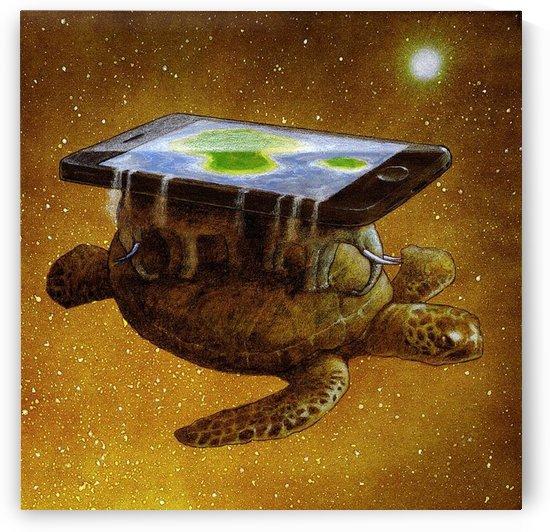 flat world by Pawel Kuczynski