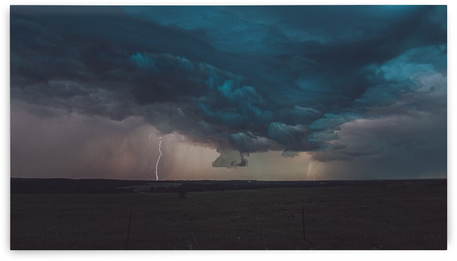 Prairie Storm by Bone Photo