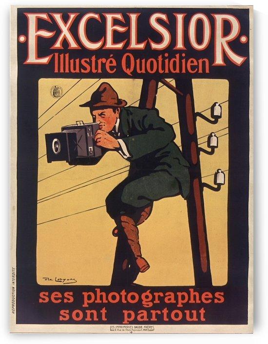 Excelsior Affiche by VINTAGE POSTER