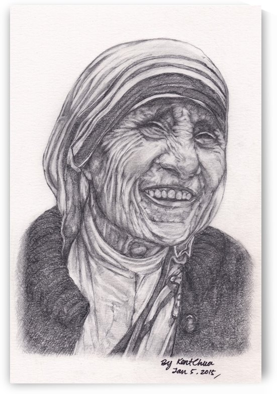 Mother Theresa  by Kent Chua