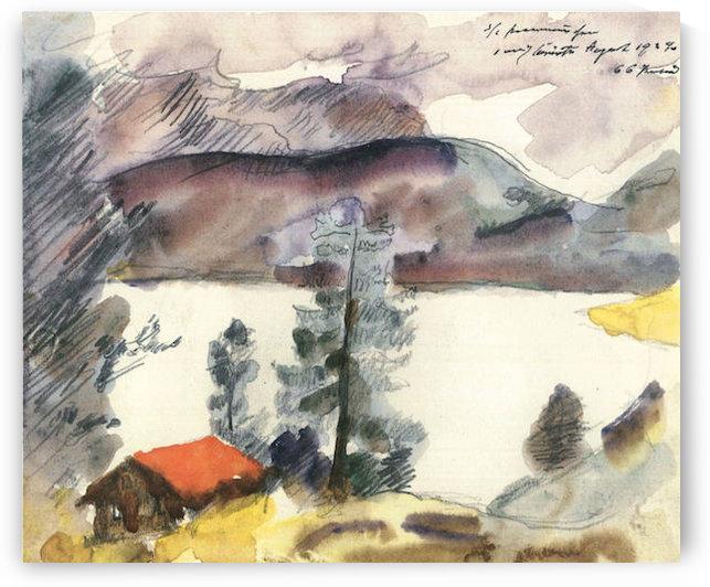 Walchensee -7- by Lovis Corinth by Lovis Corinth