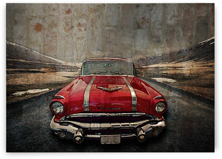 1956 Pontiac Strato-Streak by COOL ART BY RICHARD