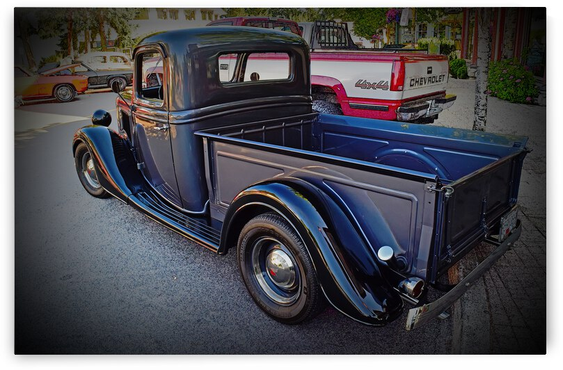 1935 Ford Pickup by COOL ART BY RICHARD