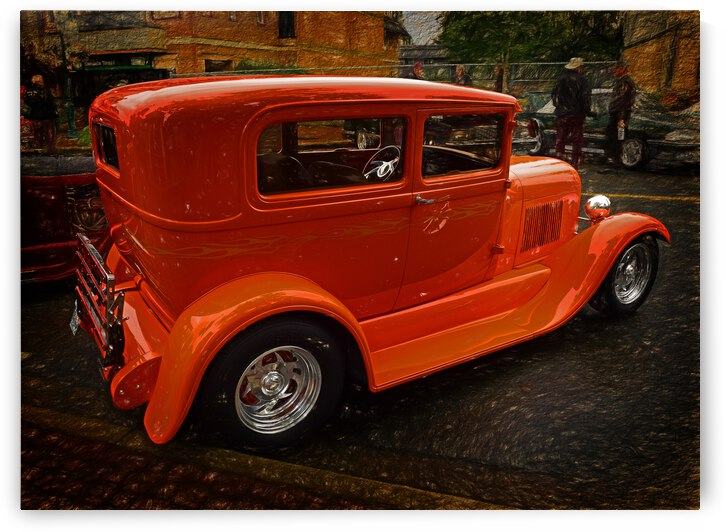 1929 Ford Tudor Sedan by COOL ART BY RICHARD