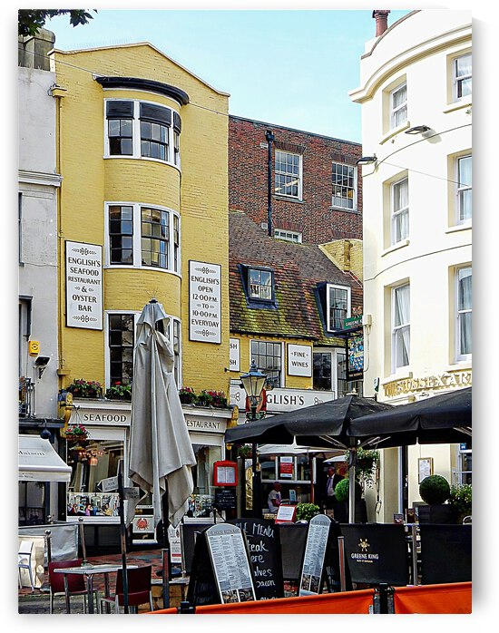 Places to Eat in the Lanes Brighton by Dorothy Berry-Lound