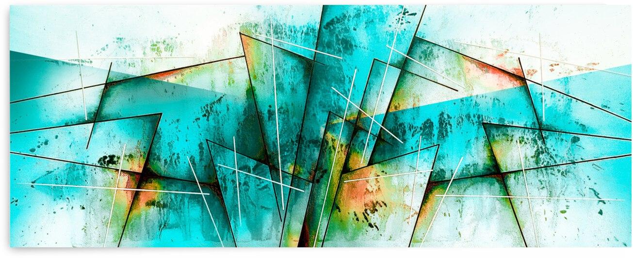 ABSTRACT ART BRITTO QB300 by SIDINEI BRITO