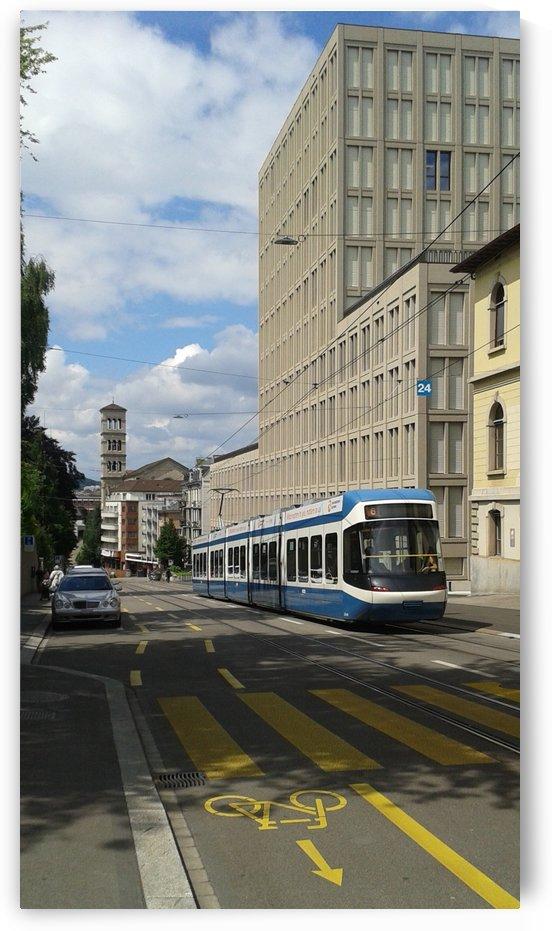 Sunny Day in Zurich by Vlad Radulian