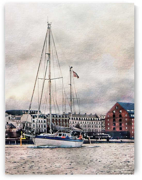 Sailing at Copenhagen by Dorothy Berry-Lound