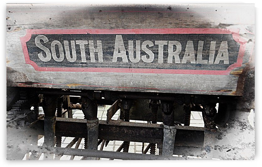 South Australia Sign by Dorothy Berry-Lound