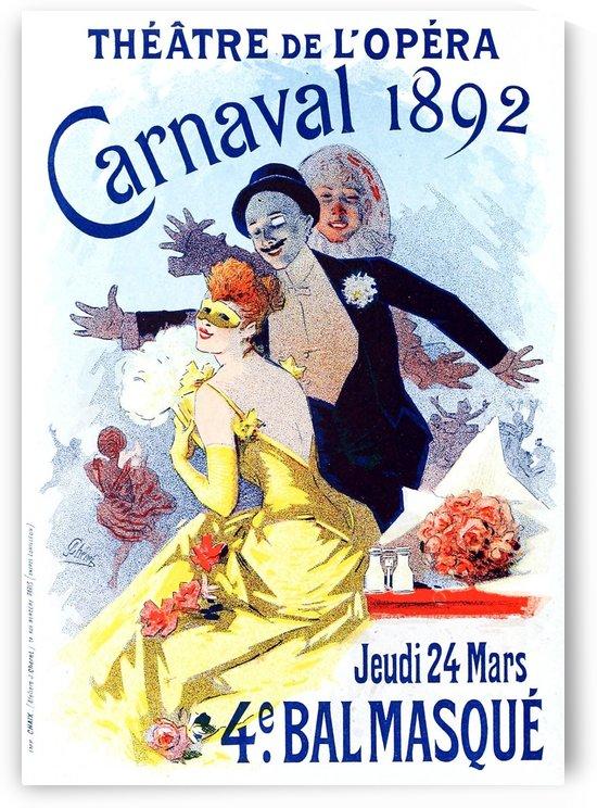 Theatre de Opera Carnaval 1892 original poster by VINTAGE POSTER