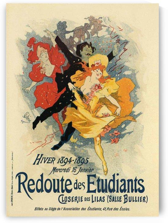 Redoute des Etudiants by VINTAGE POSTER