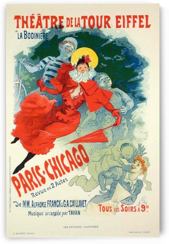Theatre de la Tour Eiffel - La Bodiniere by VINTAGE POSTER
