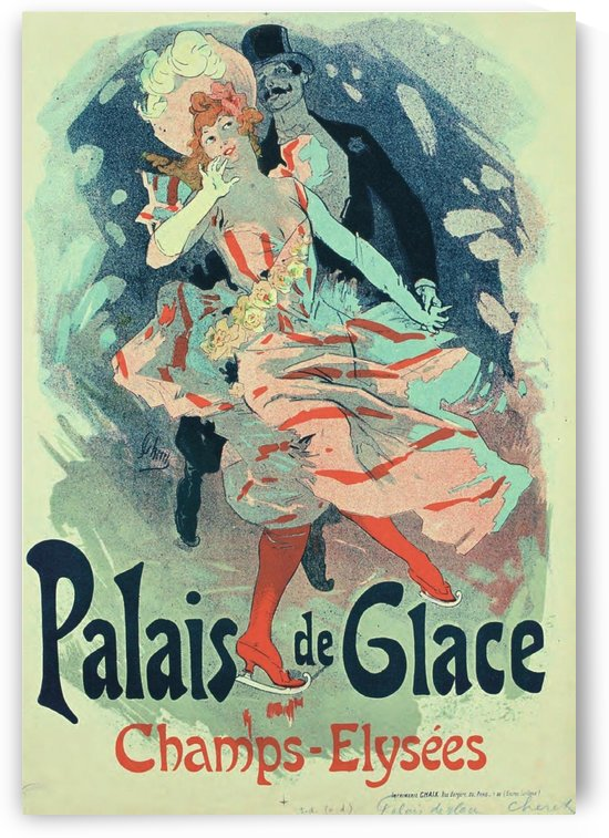Palais de Glace Vintager Poster by VINTAGE POSTER