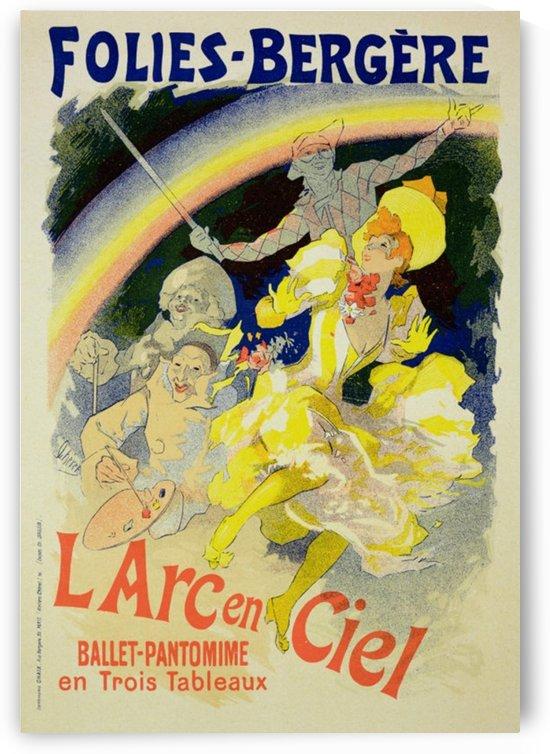 LArc en ciel Ballet-Pantomime poster by VINTAGE POSTER