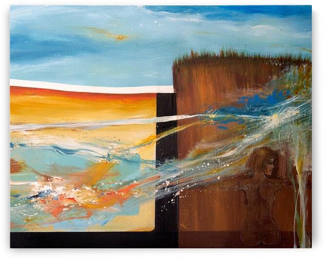 Escarpment by Csaba Kertesz