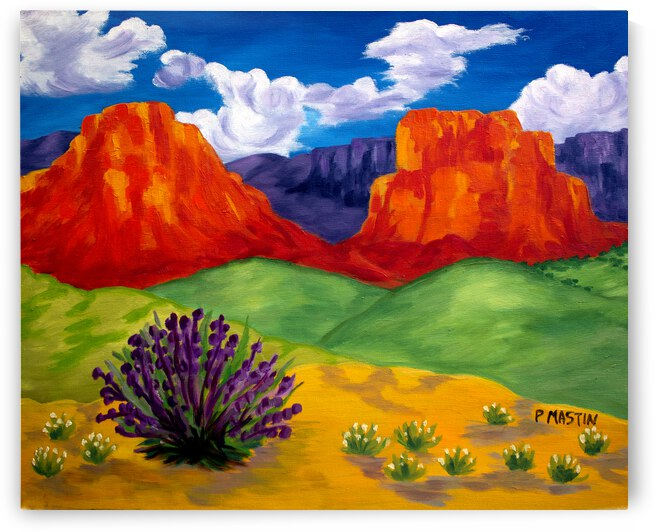 Twin Bluffs by PollyMastin
