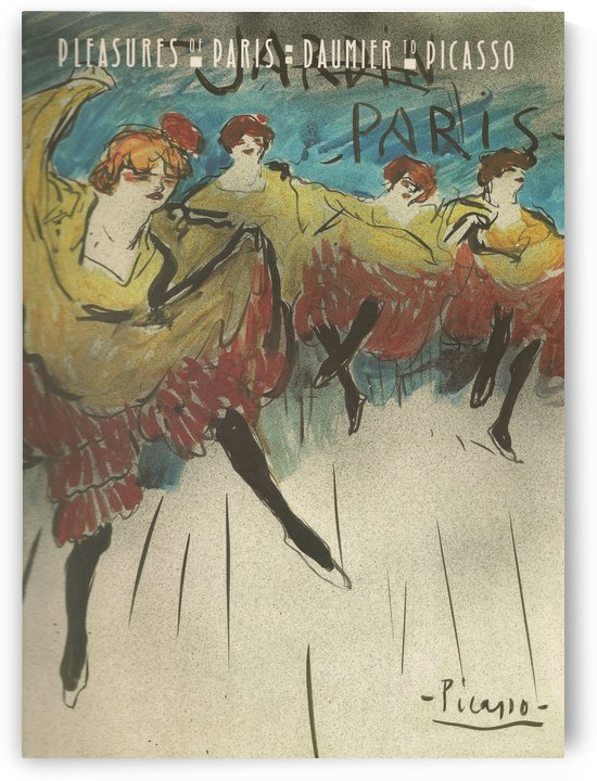 Pleasures of Paris Poster by VINTAGE POSTER