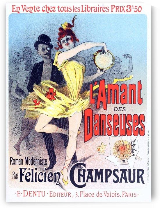 Amant des danseuses vintage poster by VINTAGE POSTER