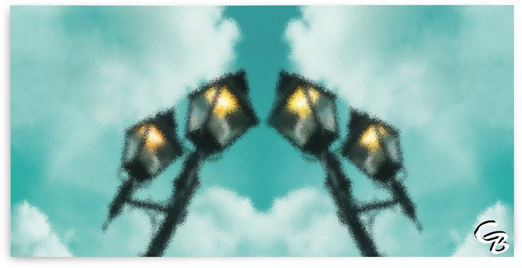 Lampes en lair by Colette Bordeleau