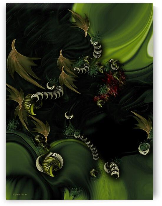 The Greener Feeling by Carmen Fine Art