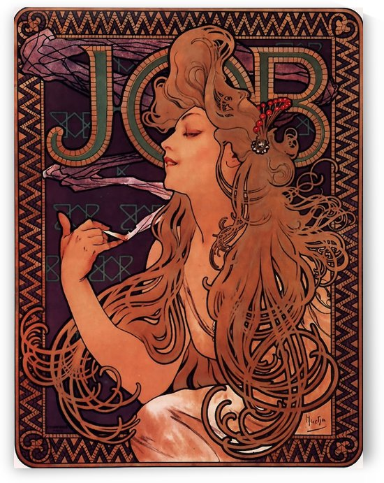 Job by Alphonse Mucha by VINTAGE POSTER