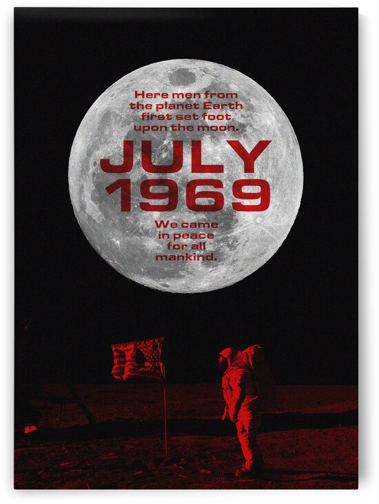 July 1969 Moon Landing by ABConcepts