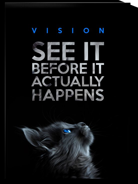 Vision Motivational Wall Art by ABConcepts