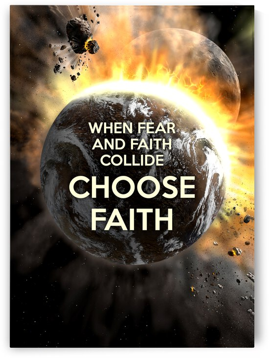 Choose Faith Motivational Wall Art by ABConcepts