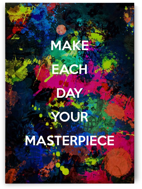 Masterpiece Motivational Wall Art by ABConcepts
