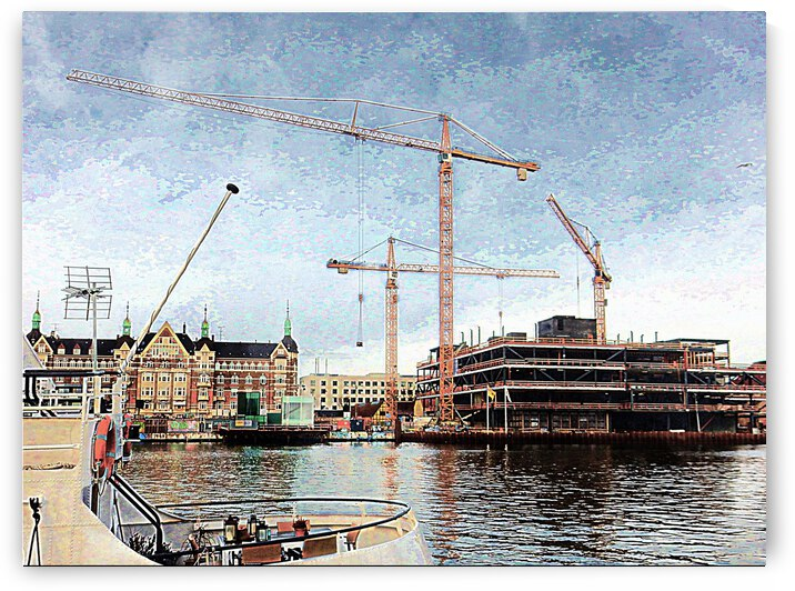 Construction in Copenhagen by Dorothy Berry-Lound