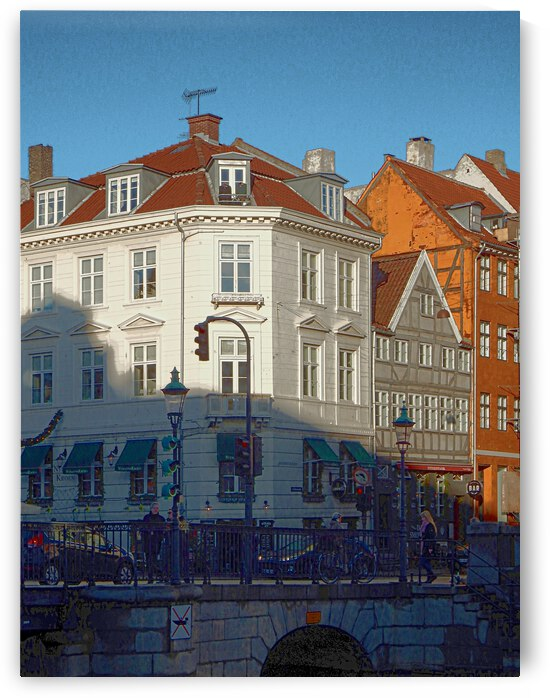 Shady Corner at Nyhavn by Dorothy Berry-Lound