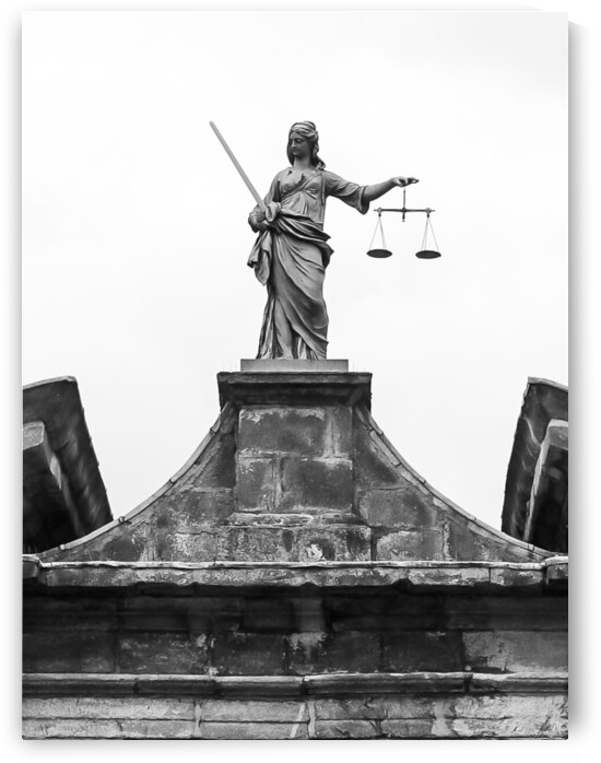Themis Goddess of Justice by Andre Luis Leme