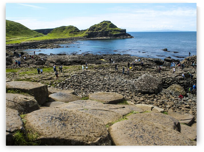 The Giants Causeway in Northern Ireland by Andre Luis Leme