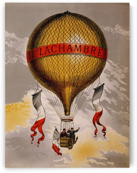 Lachambre Balloon by VINTAGE POSTER