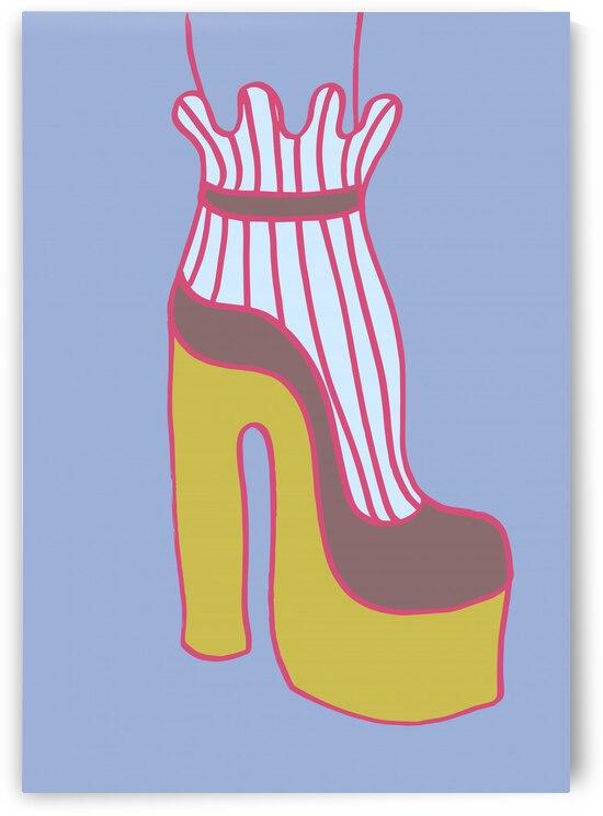 Yellow Heel 01 by 1x