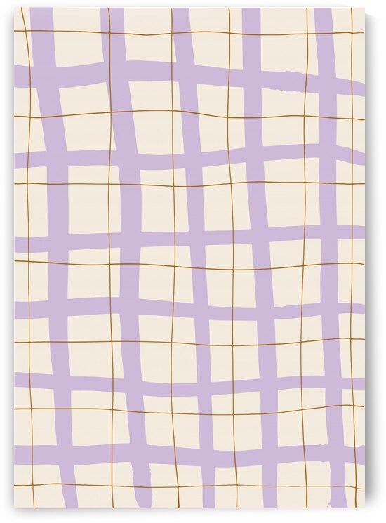Lilac Grid by 1x