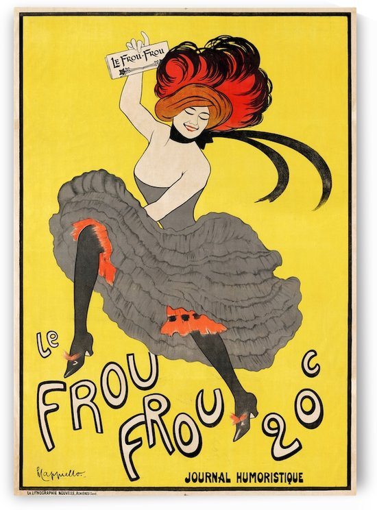 Le Frou Frou by VINTAGE POSTER