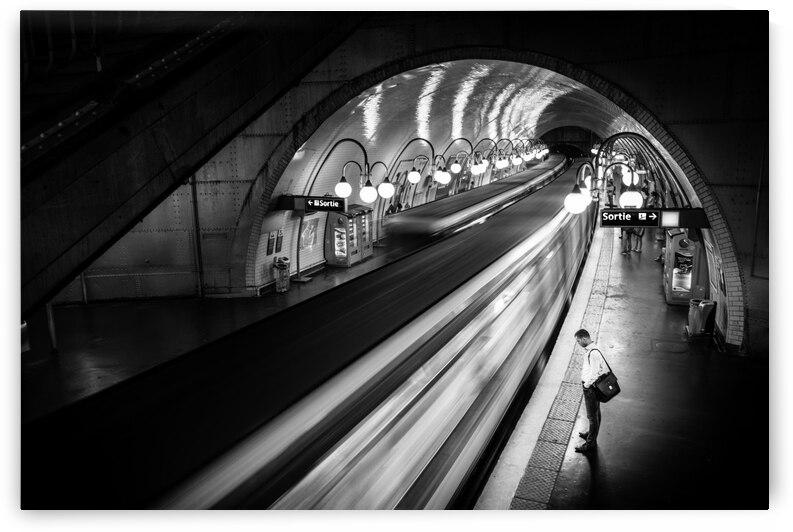 Paris Metro by 1x