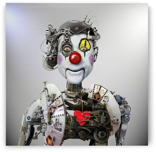 Electronic Clown by 1x