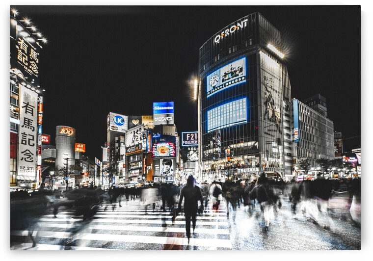 Shibuya Crossing by 1x
