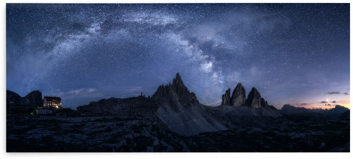 Stars in the Dolomites by 1x