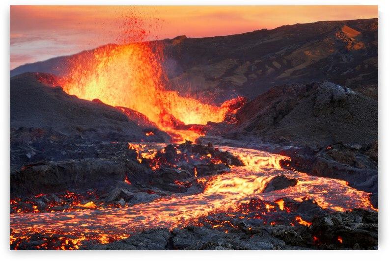 La Fournaise Volcano by 1x