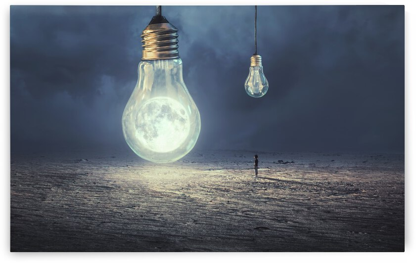 Moon Lamp by 1x