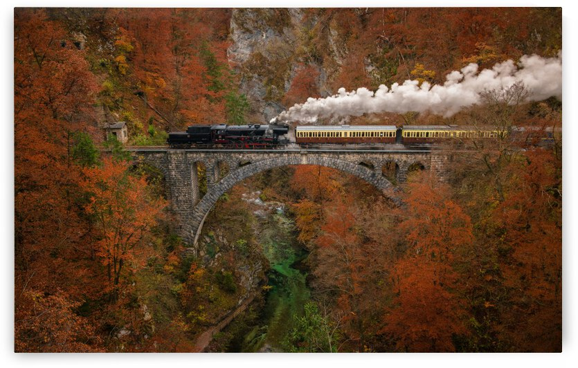 Museum train by 1x